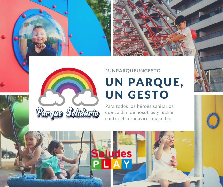 parque gesto solidario sanitarios saludes play