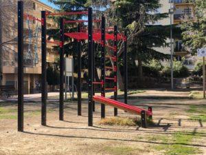estructuras de calistenia al aire libre