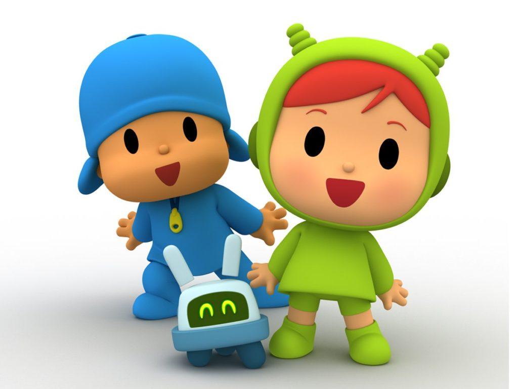 Nina y Roberto, los nuevos personajes de Pocoyó