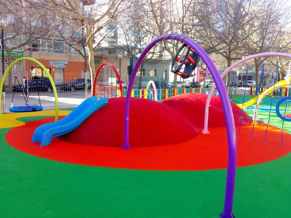 tendencias parques 2021 parque infantil colorido