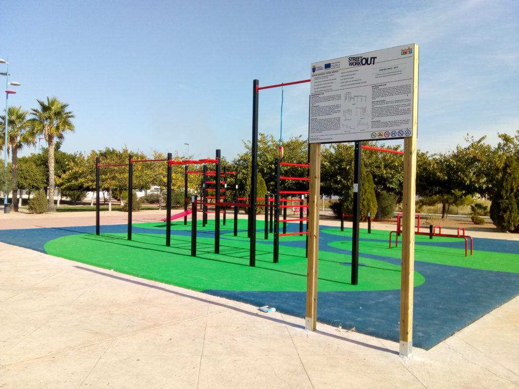 parque de street workout como elemento de espacio comunitario